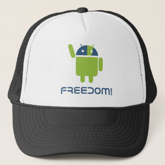 Android=Freedom Trucker Hat