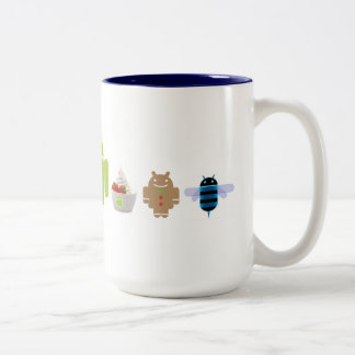 ANDROID GENERATIONS MUG