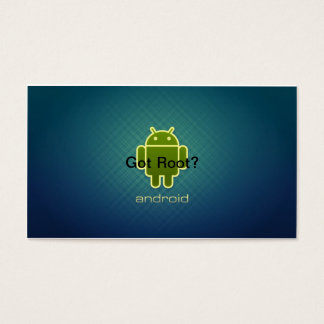 Android Got Root Business Card