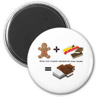 Android Ice Cream Sandwich Magnet