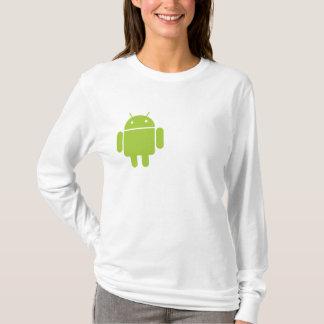 Android Ladies' Fitted Hoodie