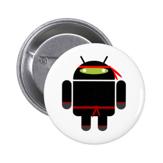 Android Ninja 2 Inch Round Button