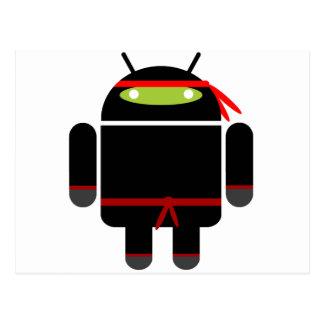 Android Ninja Postcard