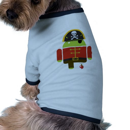 Android Pirate - Andy Dog Tee Shirt