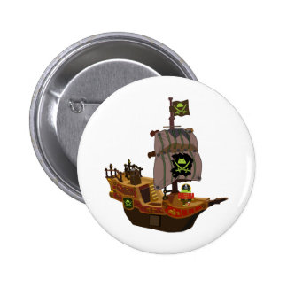 Android Pirate on a Ship Button