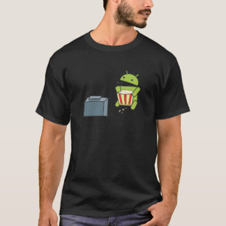 Android Popcorn T-Shirt
