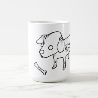 android puppy coffee mug