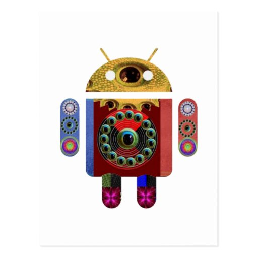 ANDROID Robot Post Card
