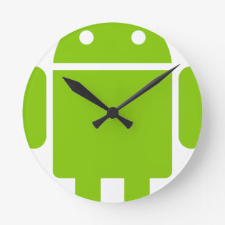 Android Round Clock