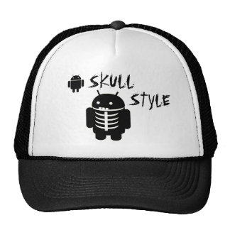 Android SKULL STYLE Mesh Hat