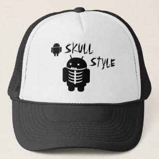 Android SKULL STYLE Trucker Hat