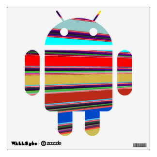 ANDROID Space War Robot   Graphic Art Collection Wall Sticker