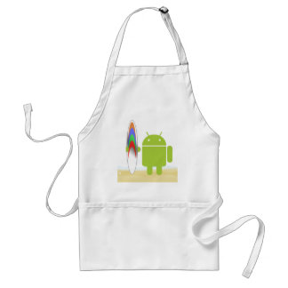 Android Surfer Aprons