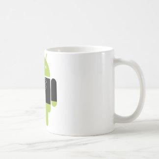 Android Tux Basic White Mug