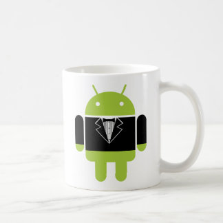 Android Tux Classic White Coffee Mug