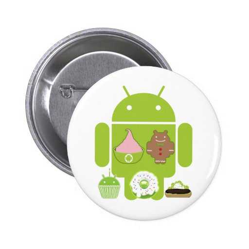 Android Versions Buttons