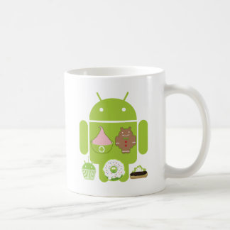 Android Versions Coffee Mug