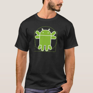 Android Vitruvian Man T-Shirt
