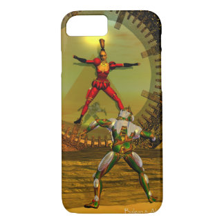ANDROID XENIA MEETS CYBORG TITAN Sci-Fi iPhone 8/7 Case