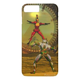 ANDROID XENIA MEETS CYBORG TITAN Sci-Fi iPhone 8 Plus/7 Plus Case