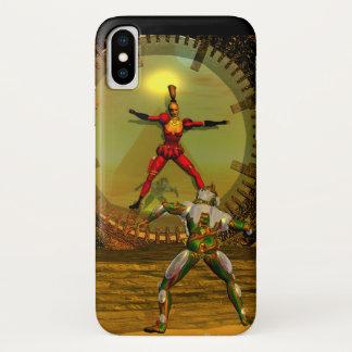 ANDROID XENIA MEETS CYBORG TITAN Sci-Fi iPhone X Case