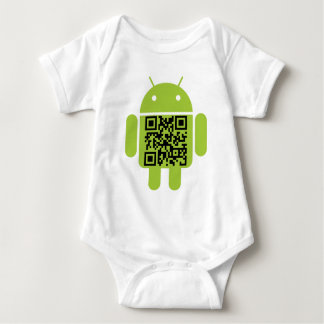 Androïde infantile t-shirts