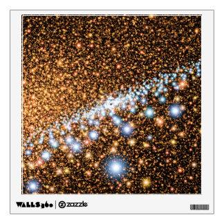 Andromeda Black Hole Blue Stars - Artist Concept Wall Sticker