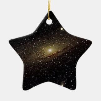Andromeda Galaxy Ceramic Star Ornament