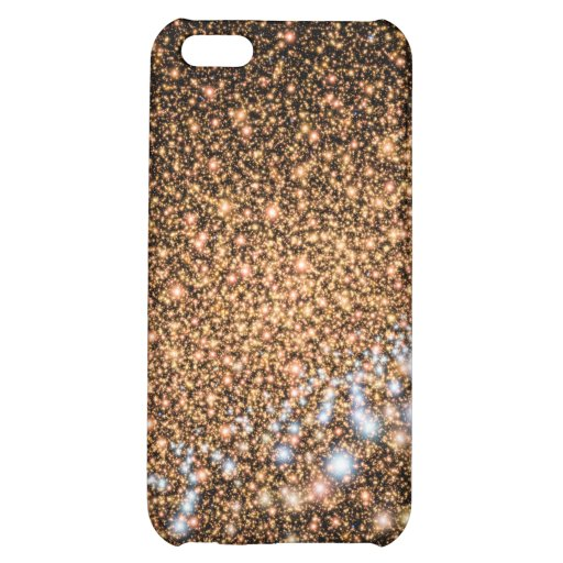 Andromeda Galaxy in Gold - NASA Space Image iPhone 5C Cases