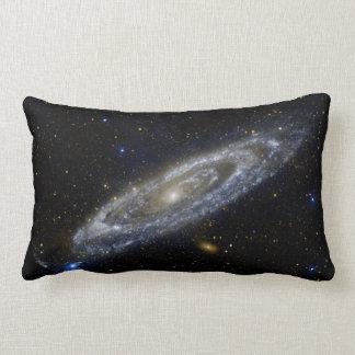 Andromeda galaxy lumbar pillow