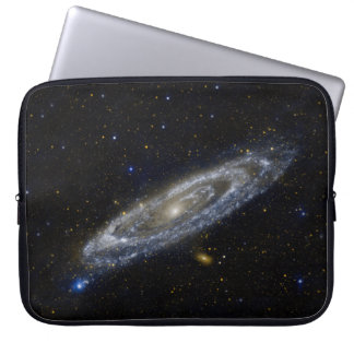 Andromeda Galaxy Starry Sky Laptop Sleeve