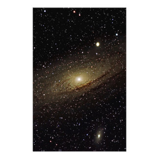 Andromeda Galaxy Stationery Paper