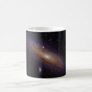 Andromeda Galaxy taken with hydrogen alpha filter Coffee Mug