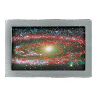 Andromeda Gallaxy Rectangular Belt Buckles