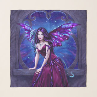 Andromeda - Gothic Dragon Painting Scarf