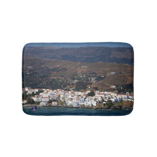 Andros town - Andros Bathroom Mat
