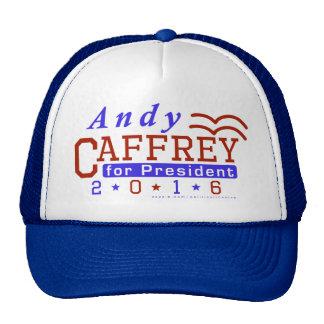 Andy Caffrey President 2016 Election Democrat Trucker Hat