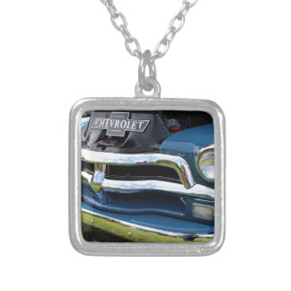 Andy III Silver Plated Necklace