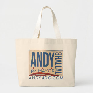 Andy Shallal for Mayor Bag