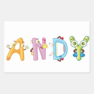 Andy Sticker