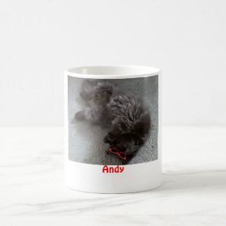 Andy the Persian cat Coffee Mug