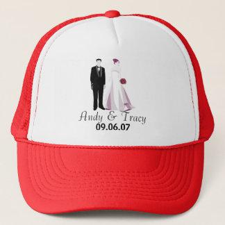 Andy & Tracy Wedding Trucker Hat