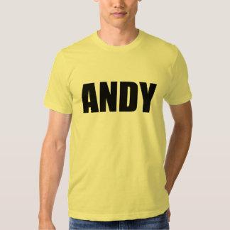 Andy Tshirts