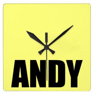 Andy Wallclock