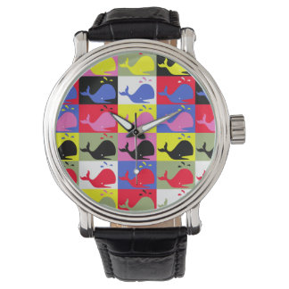 Andy Whale-Hole™ pattern_Lots o' little whales Watch