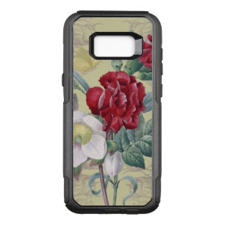 Anemone carnation Roses OtterBox Commuter Samsung Galaxy S8+ Case