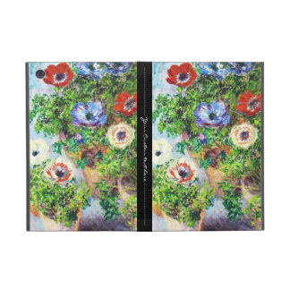 Anemones in Pot Claude Monet flower paint iPad Mini Case