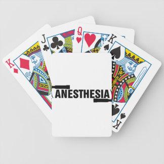 Anesthesia Mac Blade Bicycle Playing Cards