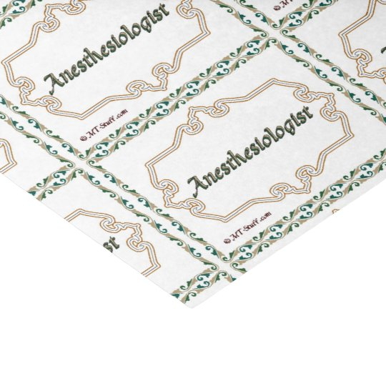 Anesthesiologist - Classy Tissue Paper