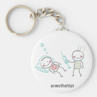 Anesthetist Keychain